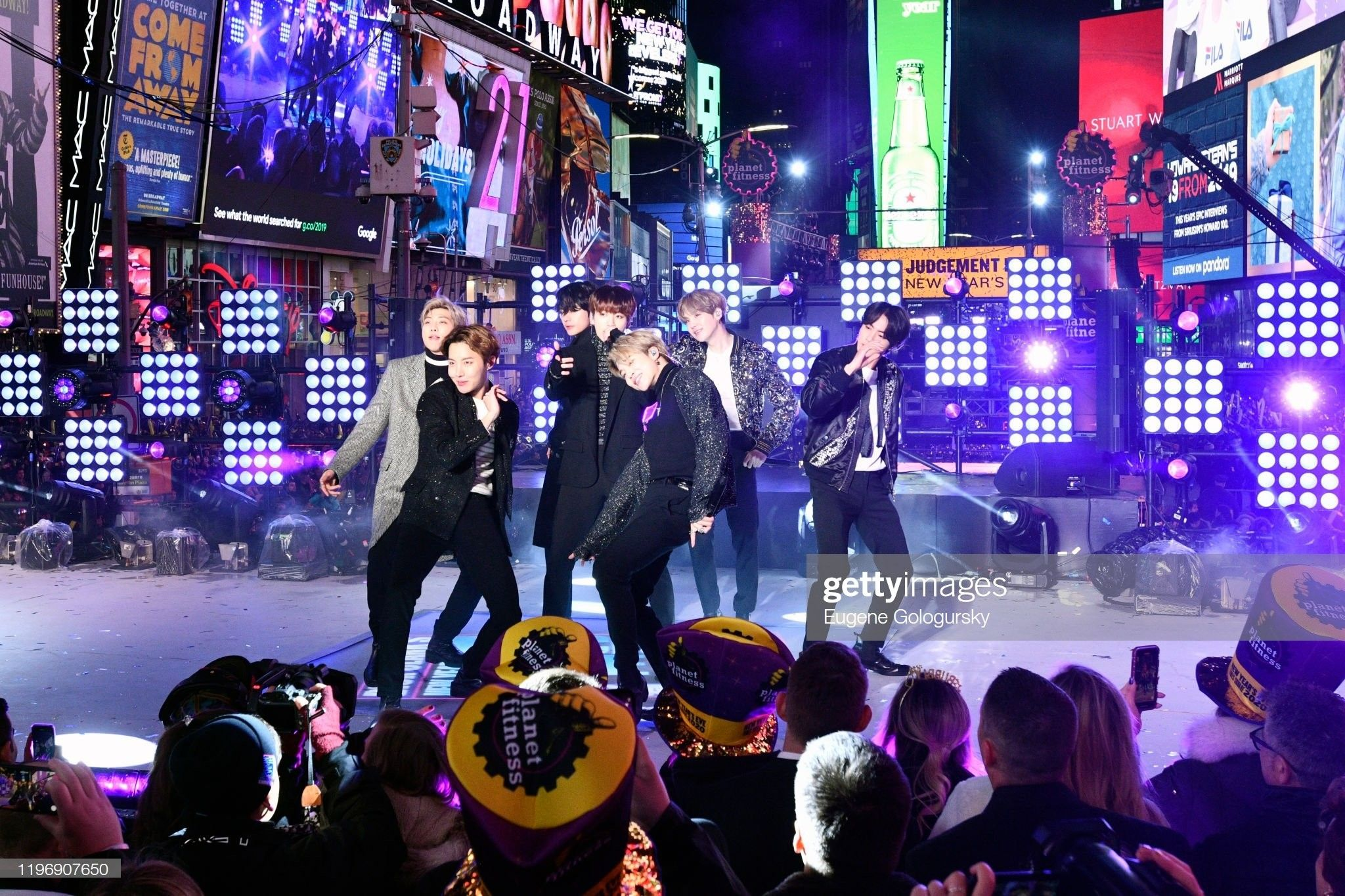Jimin💜 Times Square New Years Rockin' Eve 2020 in 2020