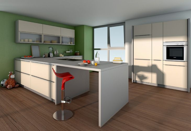 k che in creme k cheninsel k chen in creme magnolie und vanille. Black Bedroom Furniture Sets. Home Design Ideas