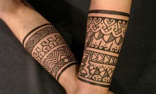 Letters On Arm Tattoos