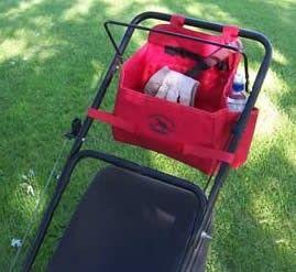 lawn mower caddy