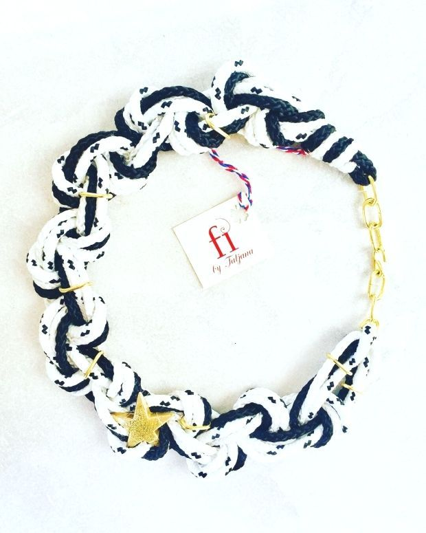 Rope Jewelry : ????UNIQUE JEWELERY FROM MONTENEGRO #ogrlica#jewelry#rope#nacklaces#newyearpresent#necklaceaddict#handmade#art#elegant#jewelrymaking#jewelryforsale#montenegro#new#summer#collana#fashion#fashionblogger#jewelrydesigner#jewelryoftheday#unique#madeinmontenegro#streetstyle#trendy#collar#collier#????????#halskette#??#????? #fi_by_tatjana #Rope #Jewelry