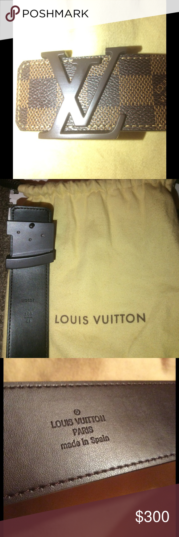 05827d283200 Brand New Loui Vuitton Ebene Damier Belt Brand New Loui Vuitton Damier Belt.  100% Authentic. Satisfaction guaranteed or money back. This belt is size  105cm ...