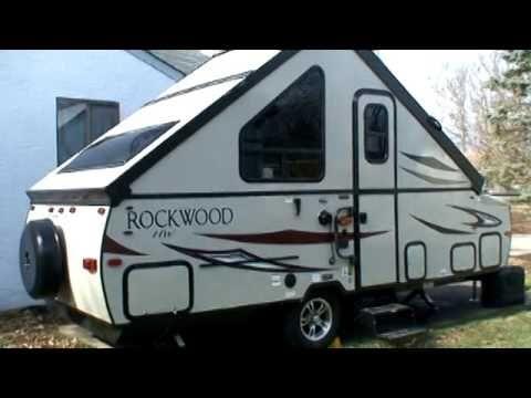 Rockwood A213hw A Frame Camper Youtube A Frame Camper Small