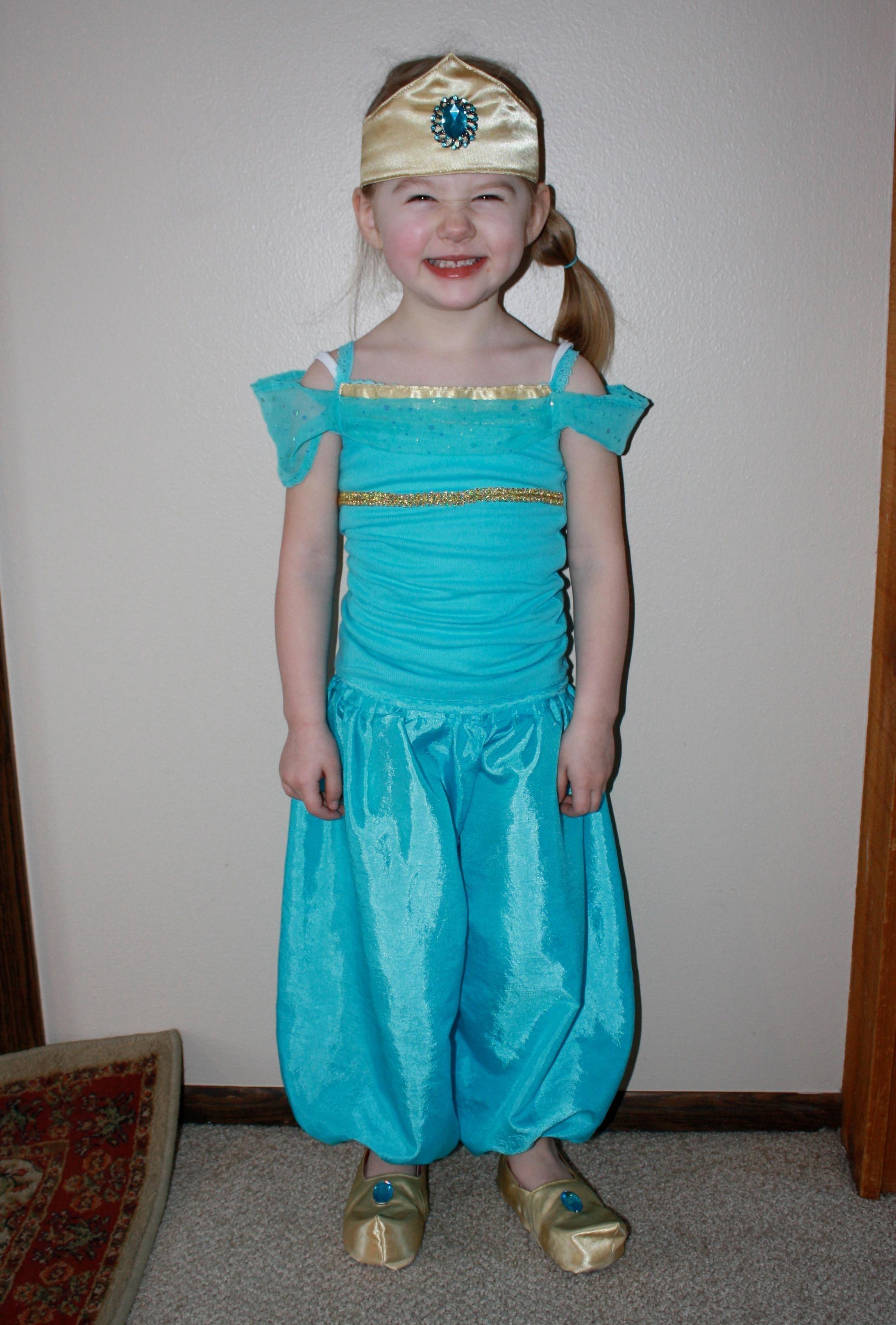 DIY Fairy Costume : DIY princess jasmine costume : DIY Halloween DIY ...