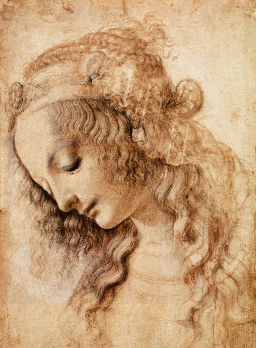 From the pages of Da Vinci's sketchbook....