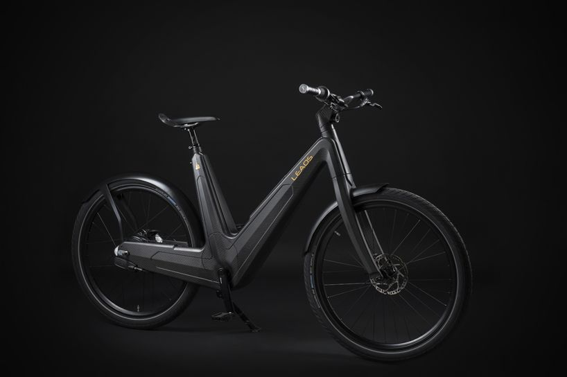 Leaos Carbon Fiber Electric Bike Is Designed And Handmade In Italy Electric Bike Ebike Electric Bicycle