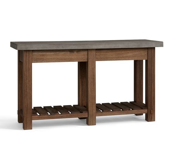 Abbott Console Table Brown Outdoor Console Table Diy Outdoor