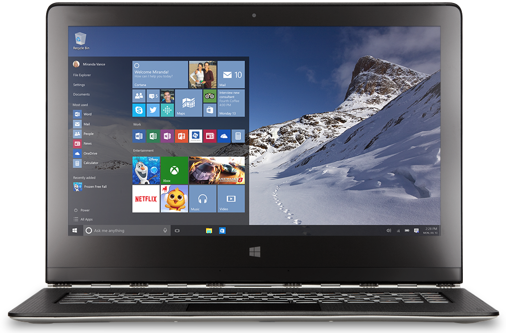 Upgrade to Windows 10 for FREE. This is a limited
