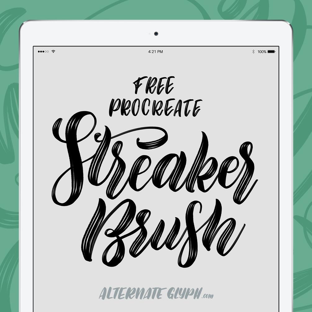 Musical Set 6 Brushes Procreate Brushes iPad Lettering Brush Pack Procreate Brush Set Dual Brushes Symmetry Line Brushes