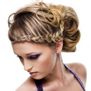 Astounding 1000 Images About Elegant Braids On Pinterest Updo Hairstyles Hairstyle Inspiration Daily Dogsangcom