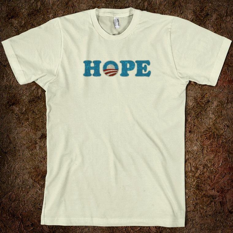Barack Obama Hope t shirt