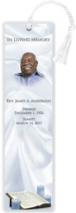 1000+ images about Memorial Bookmarks w/ Prayer Poem or Obituary ...