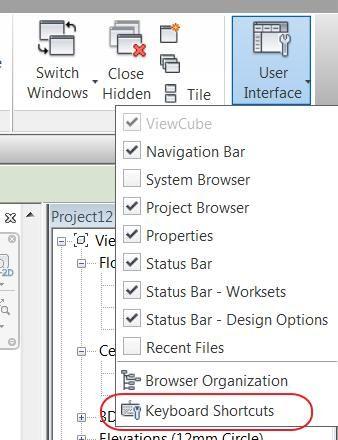 Revit Creating Keyboard Shortcuts Blog Cadline Community Bim Projetos