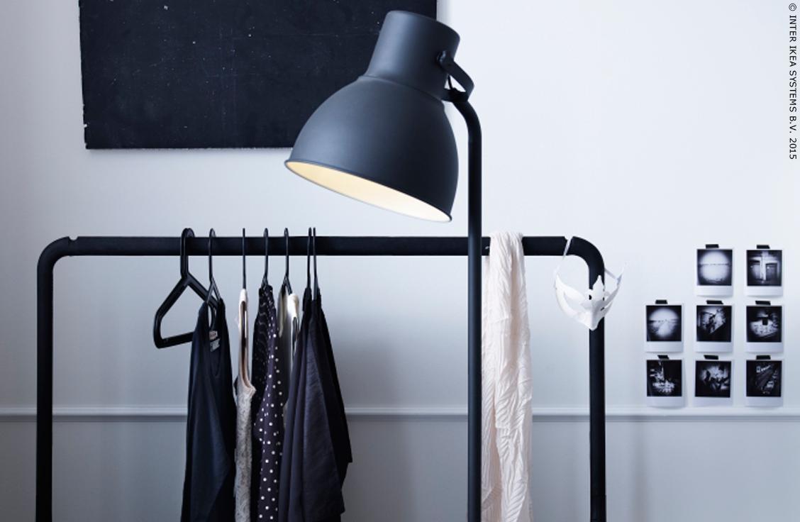 hektar lampadaire gris fonc magasin ikea ch ques cadeaux et valeur. Black Bedroom Furniture Sets. Home Design Ideas