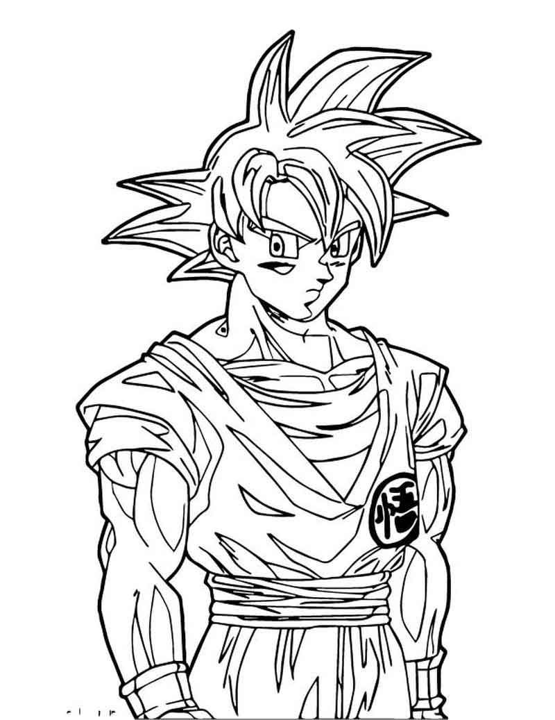 Goku We Coloring Page 220 Coloring Pages Coloring Pages For Boys Coloring Sheets For Kids