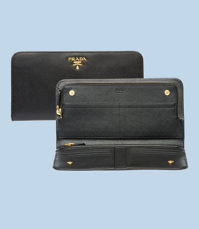 229efe4bd8a1 Prada Saffiano Ladies Wallet...best investment a woman can make ...