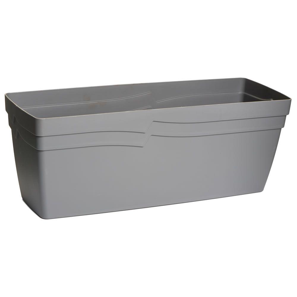 Wilko Planter Trough Self Watering Grey 49cm - £4 | Plants and ...