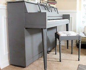 I Think I'll Paint the Piano Today - The Market @ Huckleberry Farm