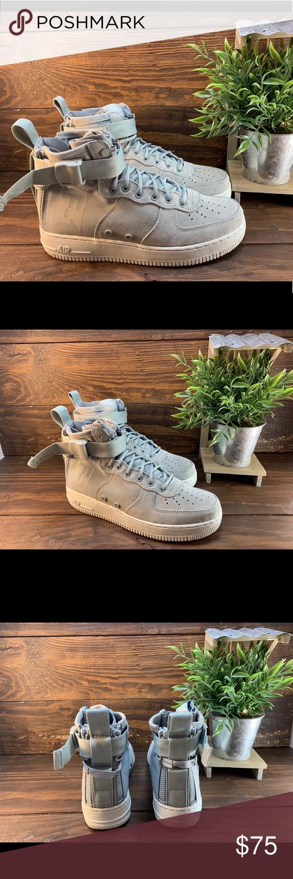 NEW! Nike Air Force 1 AF1 Neutral Olive Green Gum Bottom Camo 596728 202 SZ 7Y