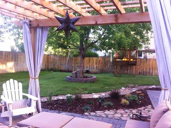 Best Yard Before and Afters 2014 | Yard, Pergola, Outdoor ...
