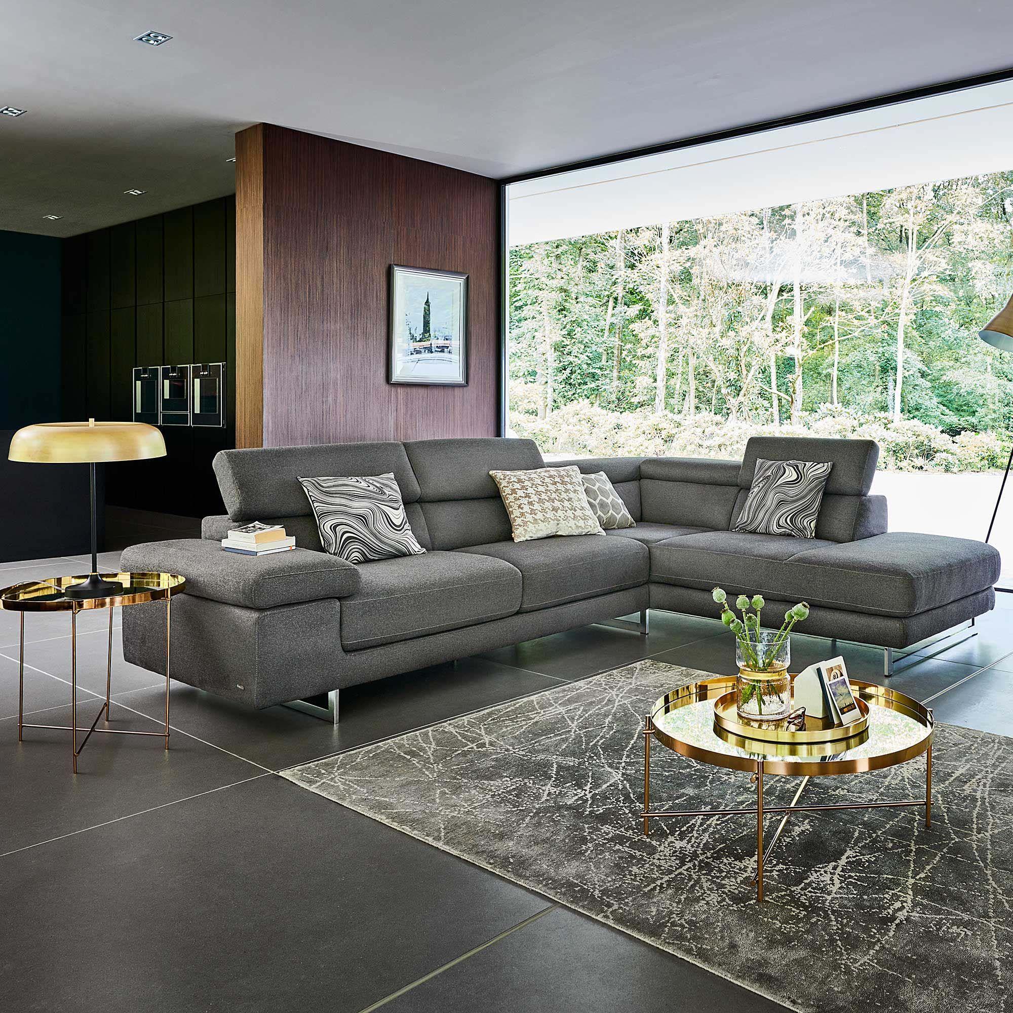 Livata Right Hand Facing Fabric Corner Sofa Levante Corner