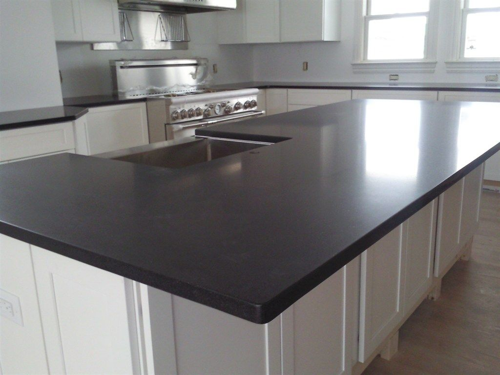Black Honed Granite Countertop A1 Kitchen Pinterest