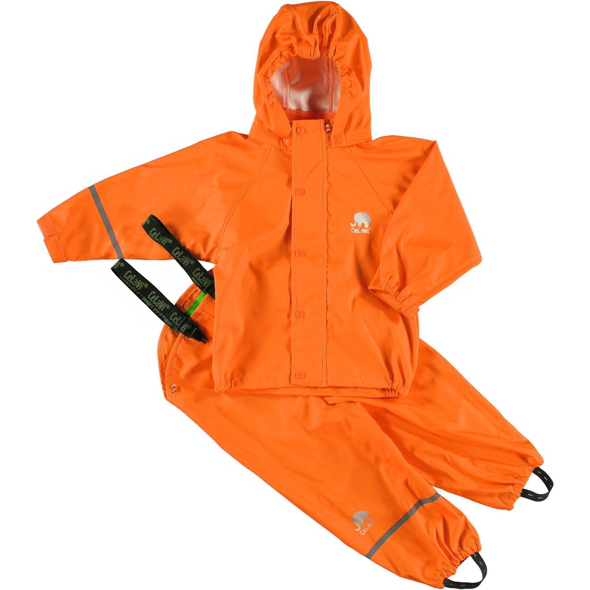 61b38e916 Classic Rain Gear Set - Orange in 2019 | Shop Biddle and Bop | Rain ...