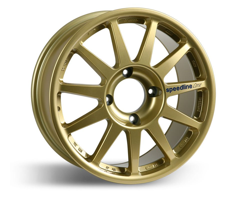 Cast magnesium alloy, rally cross and tarmac rally wheel
