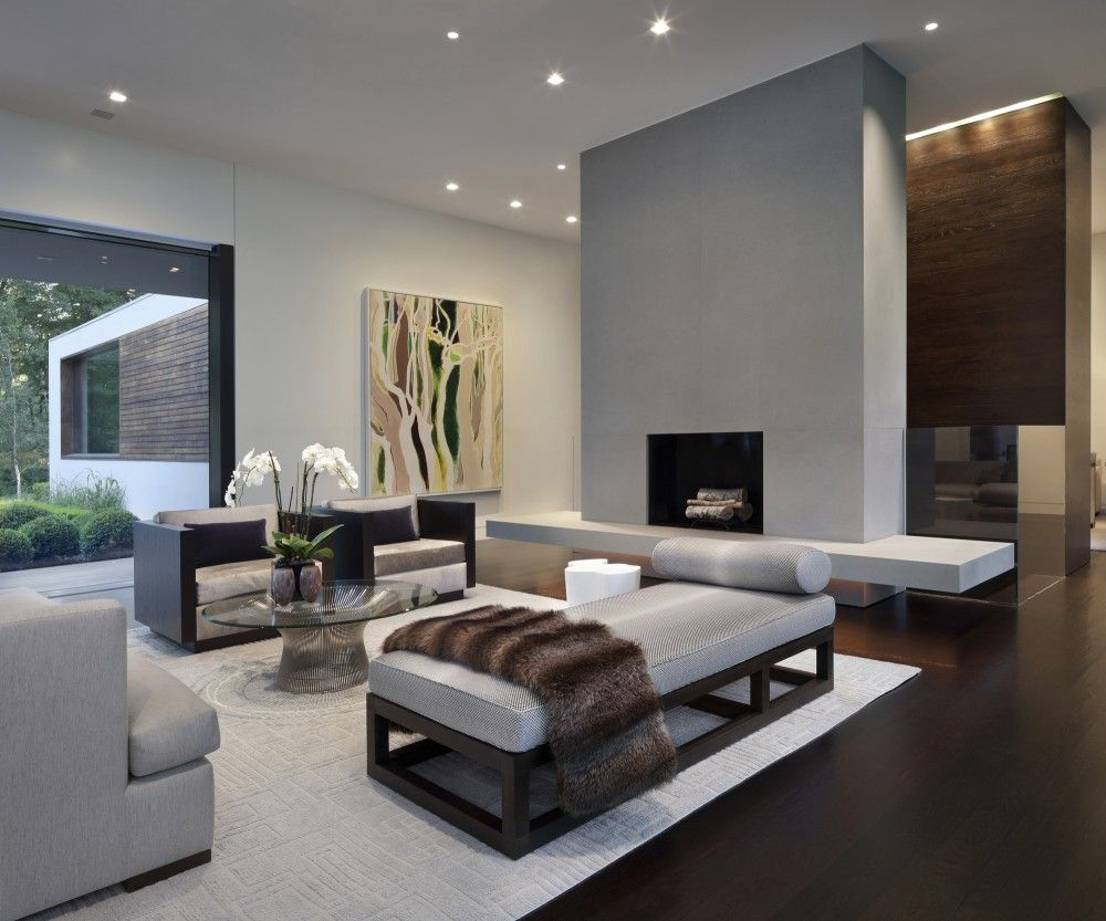 Gallery Of New Canaan Residence / Specht Harpman   12. Living Room  ModernContemporary ... Part 68