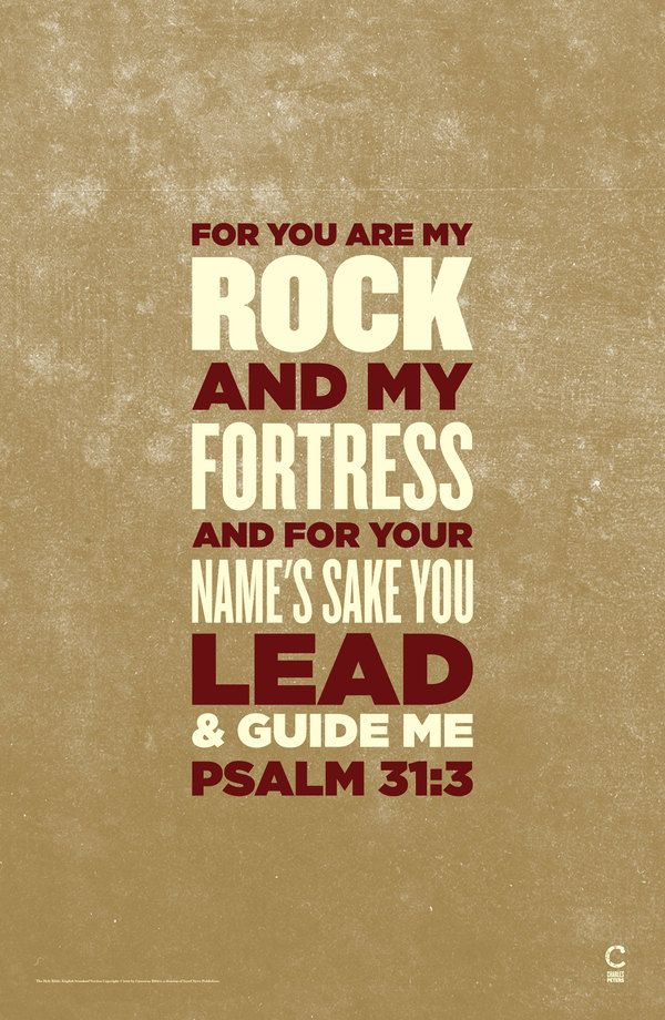 Lyric my rock lyrics : For You are my Rock and my Fortress and for Your Name's sake You ...