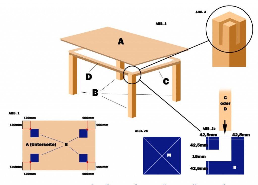 Pin Von Absideri Auf Interiors And Furniture Details And Construction Details Mit Bildern Tisch Bauen Tisch Tisch Selber Bauen