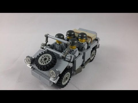 Lego Wwii Willys Mb Jeep Instructions Youtube Lego Stuff