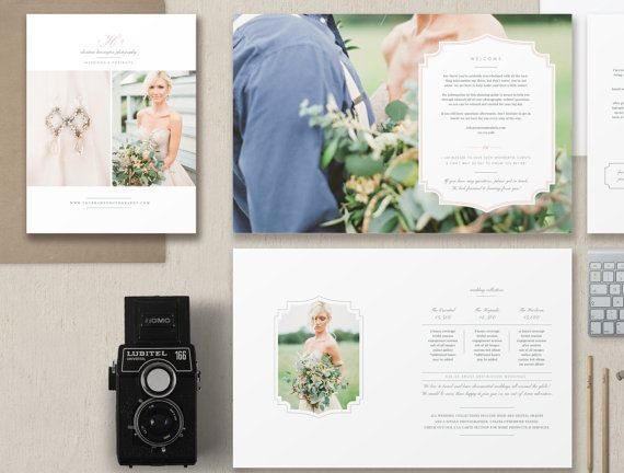Sale Wedding Photography Magazine Template By Designbybittersweet
