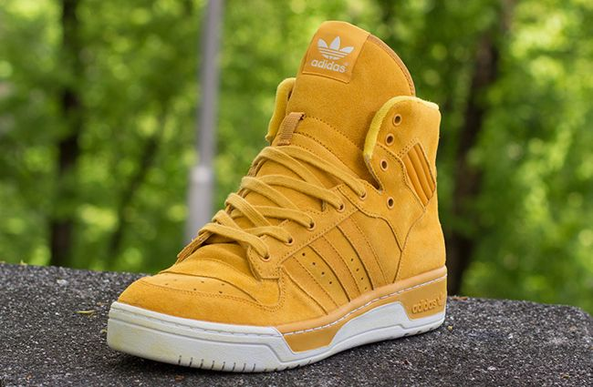 "low priced e5998 815fb adidas Rivalry Hi Vintage ""Wheat"""