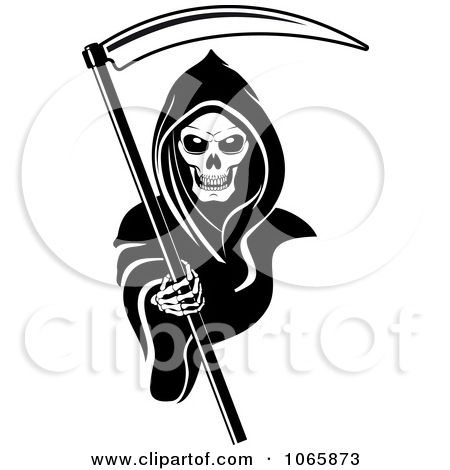 Clipart Grim Reaper 2 Royalty Free Vector Illustration By Seamartini Graphics 1065873 Free Vector Illustration Grim Reaper Grim Reaper Tattoo
