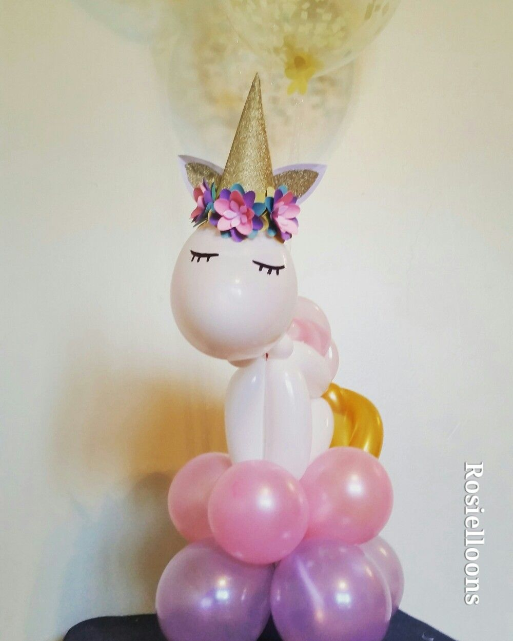 Unicorn Table Balloons Fiesta De Unicornios Piñata De