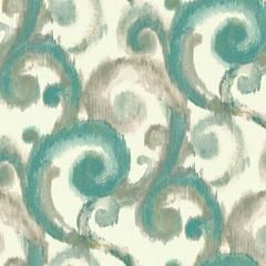 Arabesque Wallpaper in Dark Teal and Metallic Gold by Candice Olson fo – BURKE DECOR