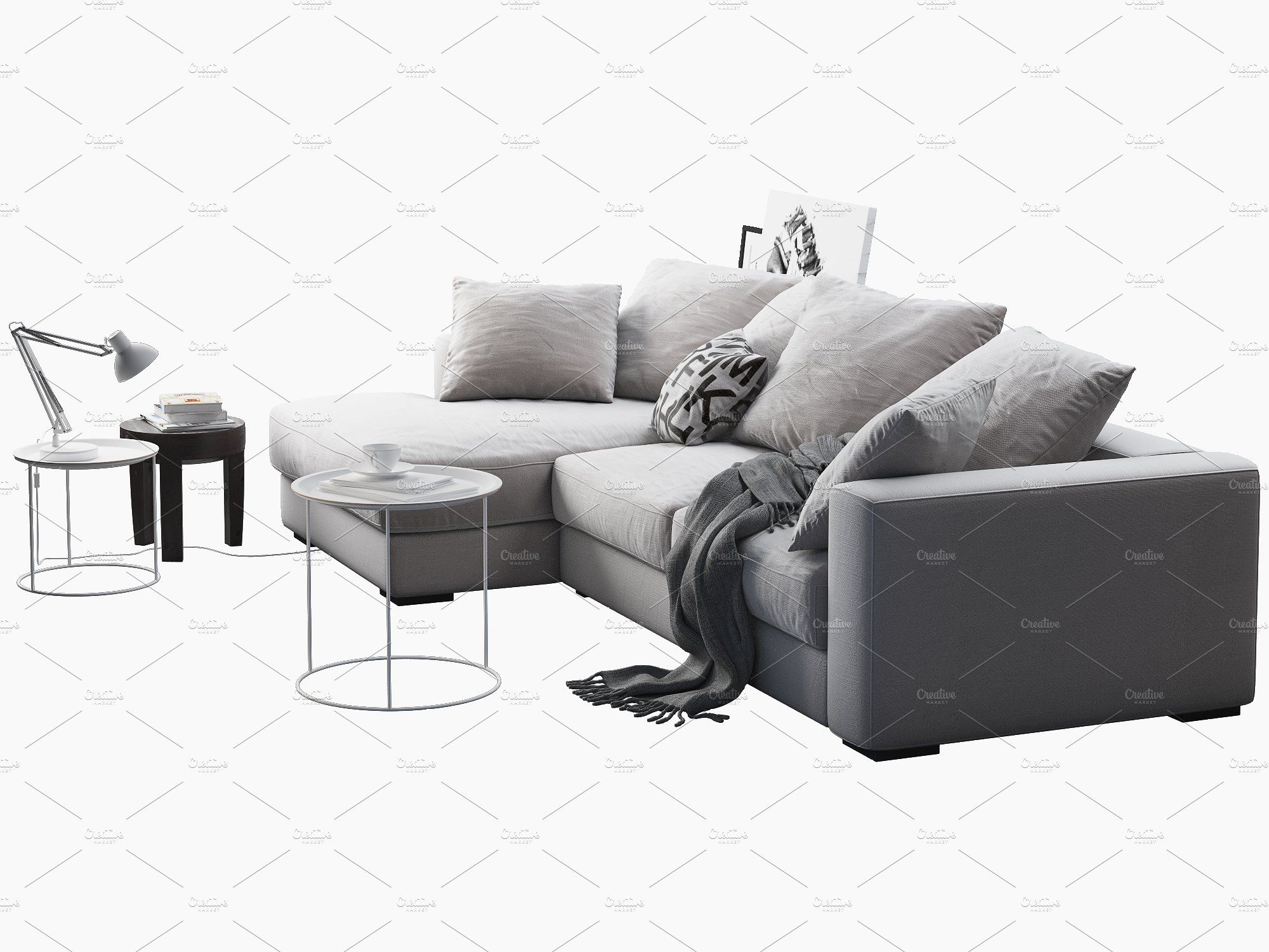 Cenova Sofa 1 3d Model Home Decor Sofa Sectional Couch