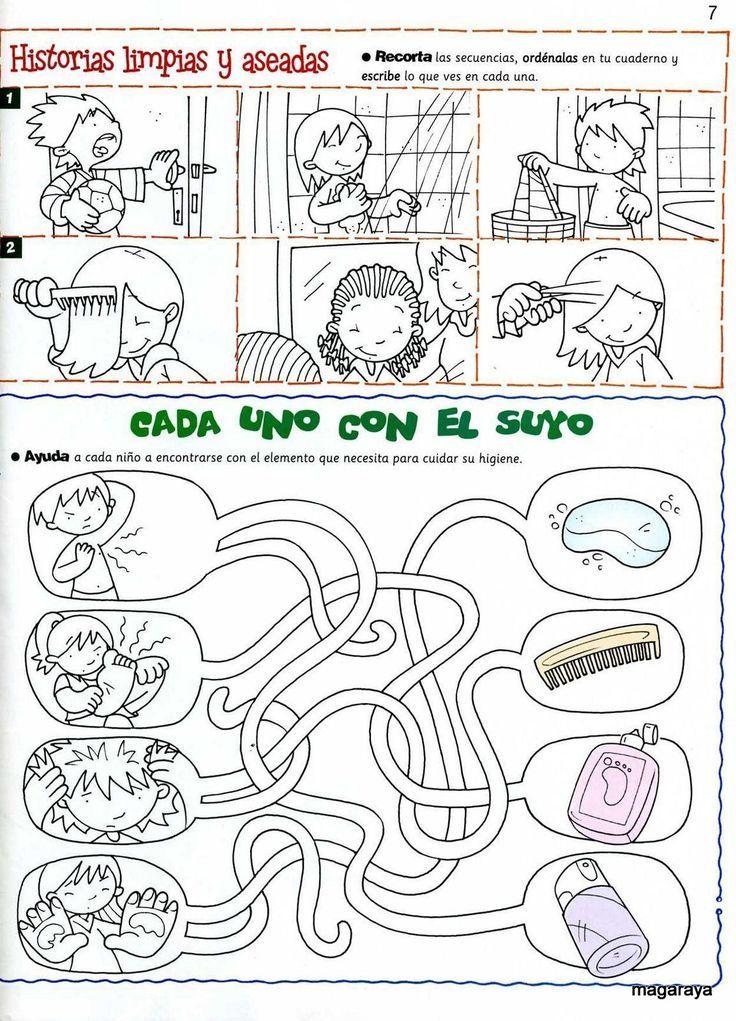 Resultado de imagen para habitos de higiene para niños de primaria ...