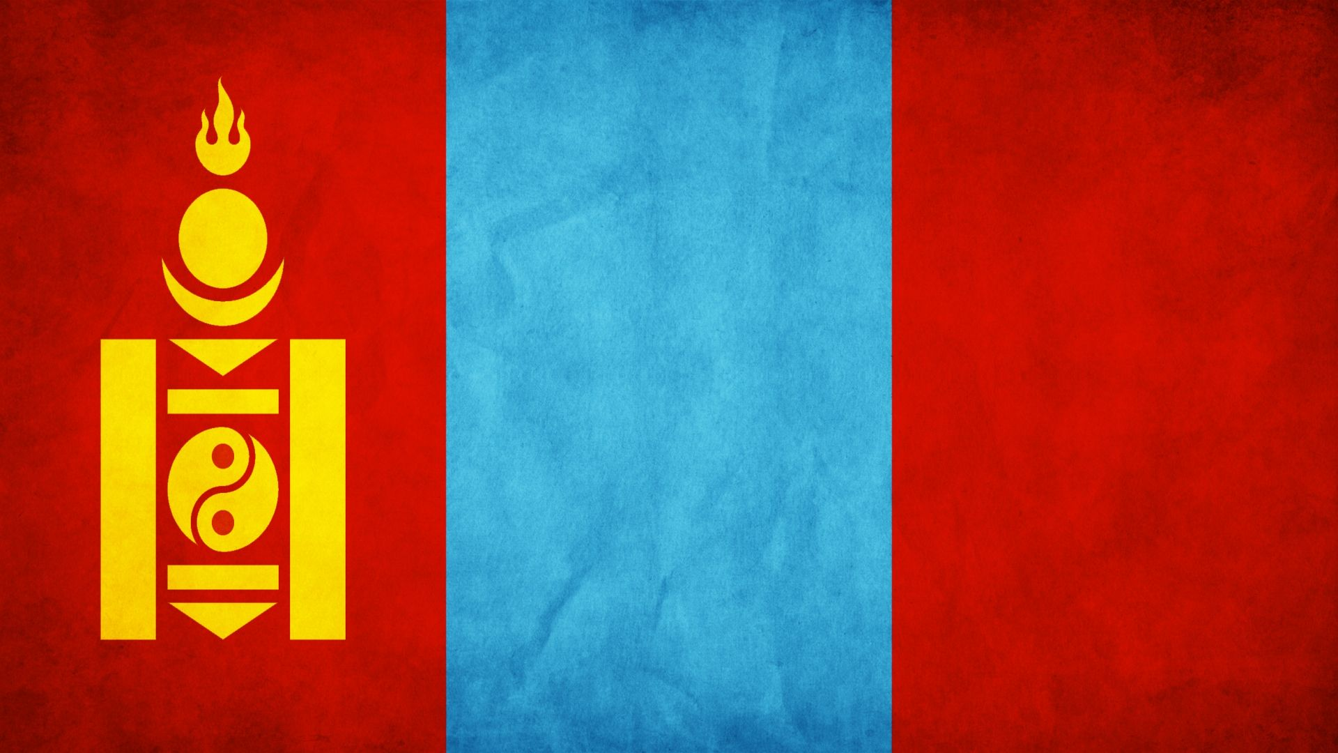 Flag Of Mongolia Flag Mongolian Flag Wallpaper
