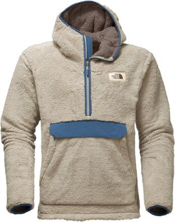 dc256487cdd4 The North Face Men s Campshire Pullover Fleece Hoodie Vintage White ...