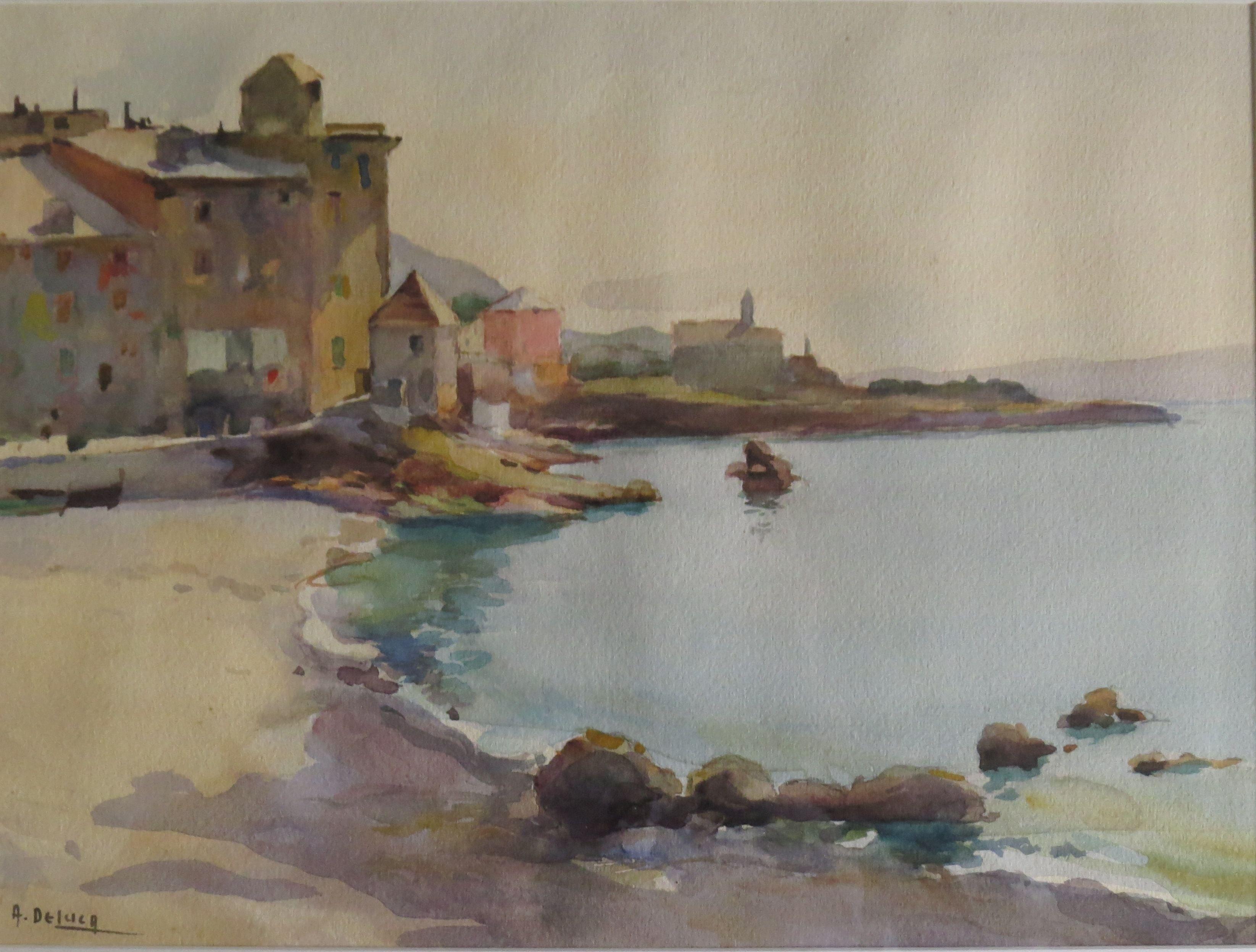 Quinto (Arturo De Luca - Sorrento, Napoli, 1885, Genova 1971) http://www.pittoriliguri.info/pittori-liguri/de-luca-arturo/