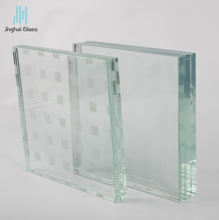 High Quality 10mm 12mm Vidrio Laminado Tempered Laminated Glass Laminated Glass Glass Glass Decor