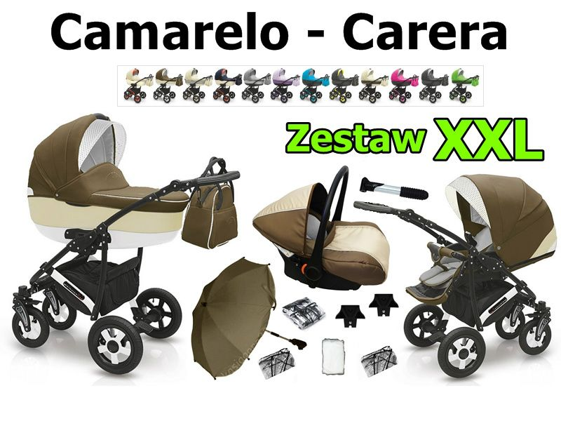Wozek 2014 Camarelo Carera 3w1 Xxl 8xgratis 3985763402 Oficjalne Archiwum Allegro Baby Strollers Stroller Children