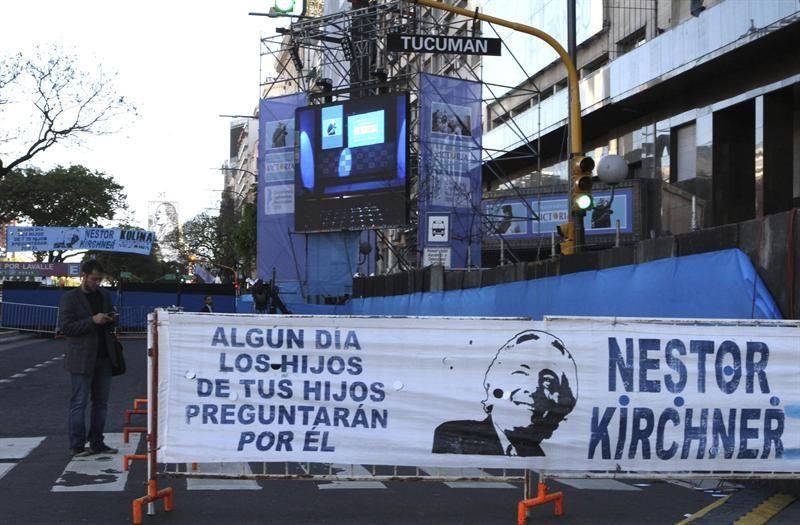 Argentinos expresaron, durante las elecciones legislativas de este domingo, su amor por el expresidente Néstor Kirchner, a tres años de su desaparición física (Foto: EFE)