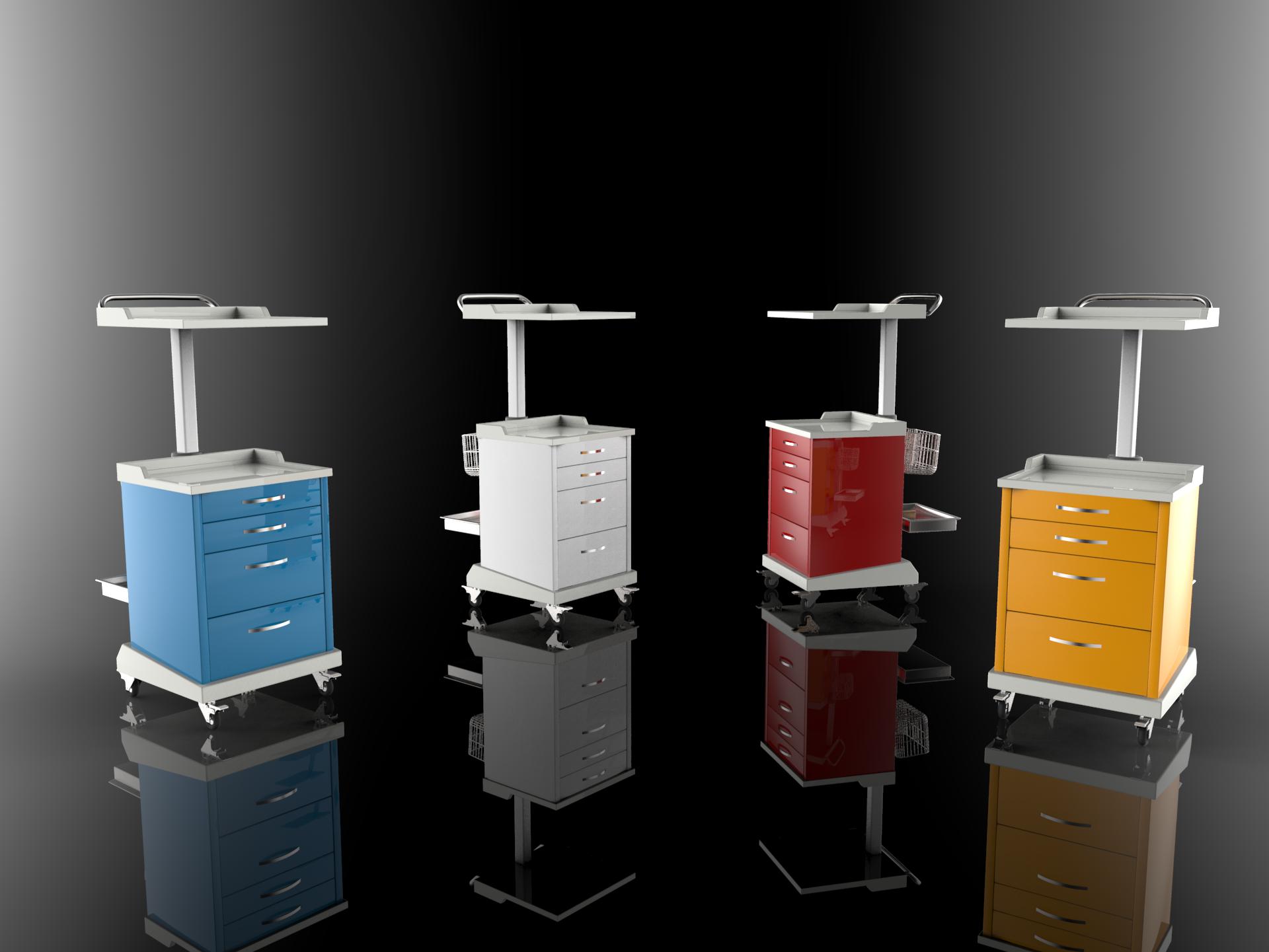 Multipurpose Mobile Cabinet Dental Cabinet Cabinet Tool Cabinet