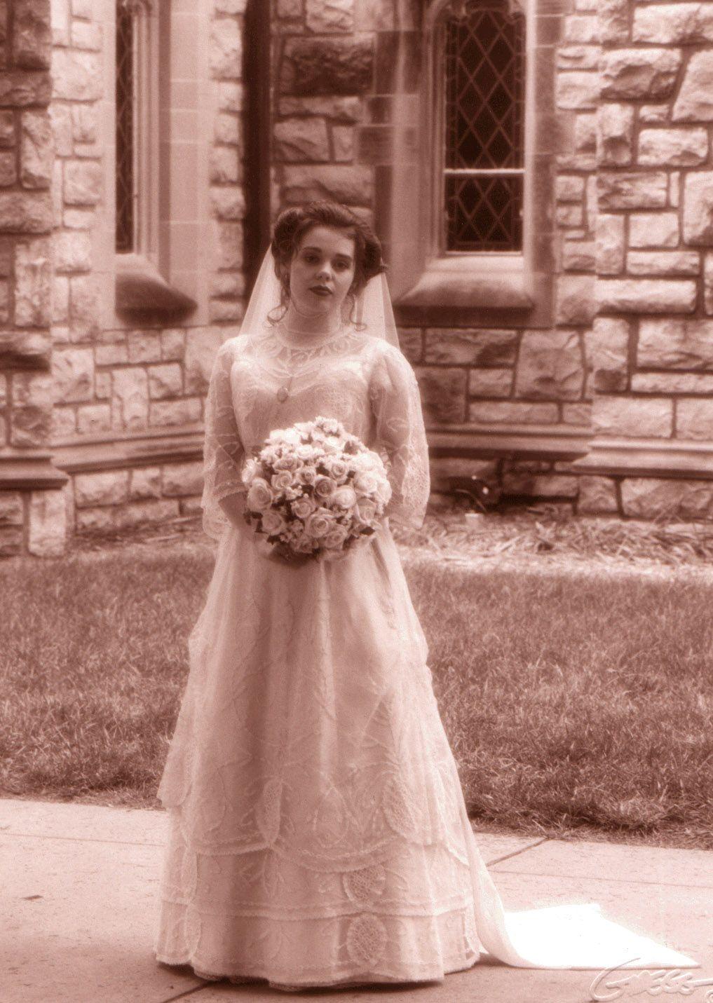 1904 Wedding Gown | Vestidos de novia antiguos, Bodas vintage y Couture
