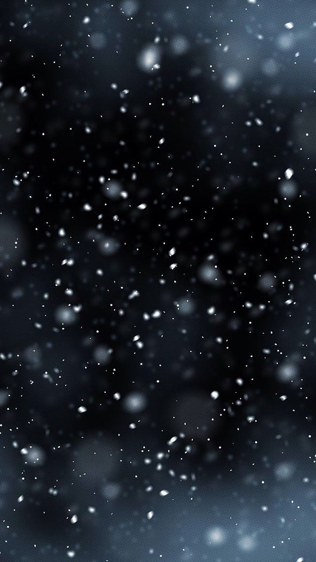 Snow Falling With A Black Background It S My New Home Wallpaper