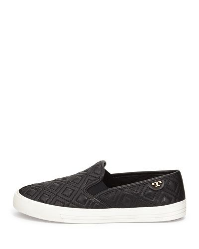 d176a88e466b Tory Burch Jessie Quilted Slip-on Sneaker