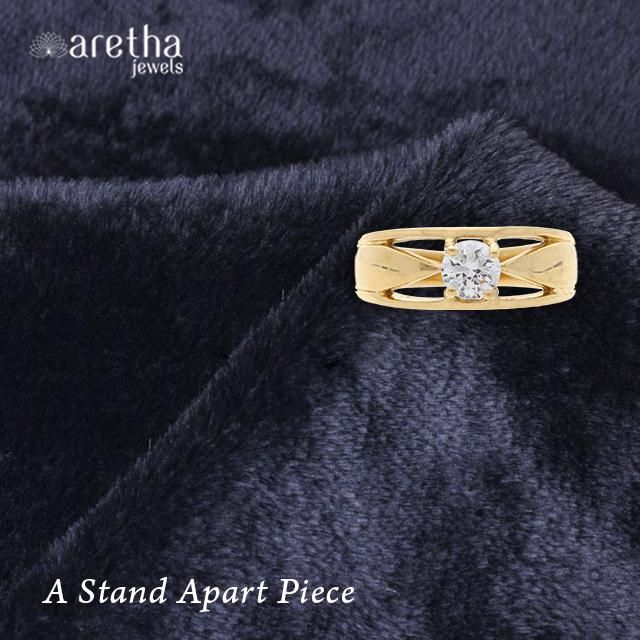 Solitaire, #Gold Polished Cool #Ring. Best for Daily Wear. Now ₹ 460 . Shop now.